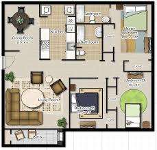 Floor Plans For Small Houses With 3 Bedrooms Best 25 One Bedroom House Plans Ideas On Pinterest One Bedroom