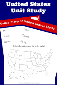 Printable Blank United States Map by Free Homeschool Curriculum United States Unit Study Free