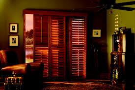 Bypass Shutters For Patio Doors Graber Traditions Bypass Sliding Shutters Patio Sliding Door
