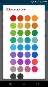 android color how to set custom colors for contacts in messenger in android