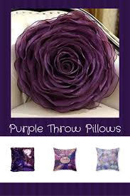 258 best beautiful decor images on pinterest dollar stores home use on beds and couches to create a calm and relaxing vibe especially in your living room or bedroom indeed purple accent pillows