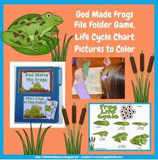 bible fun kids god frogs preschool