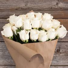 roses bouquet sincere white bouquet the bouqs co