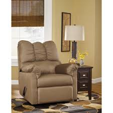 Sleek Recliner by Pri Sutton Gray Fabric Swivel Recliner Ds 912 006 177 The Home Depot