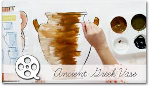 Greek Vase Painting Techniques Ancient Greek Vase Deep Space Sparkle
