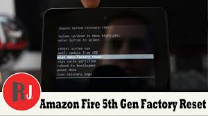 how to get the kindle fire for 35 in amazon black friday sale how to factory reset the amazon fire 5th gen 7in tablet youtube
