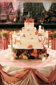 wedding cake harvest autumn inspired golf club wedding in south carolina inside weddings