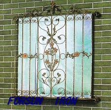 ornamental wrought iron window grill design ornamental wrought