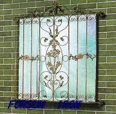 ornamental wrought iron window grill design ornamental wrought