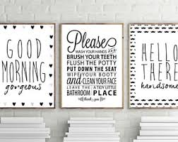 wall decor ideas for bathroom bathroom wall art etsy intended for inspirations 8 marielladeleeuw com
