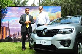 new renault kwid renault kenya unveils the kwid model car for both business and