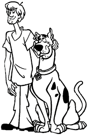 scooby doo printable coloring pages waccinc