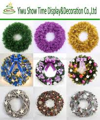 2015 yiwu factory wholesale christmas wreath decorations buy
