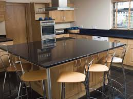 kitchen island legs metal kitchen island with seating and stove granite countertops picture