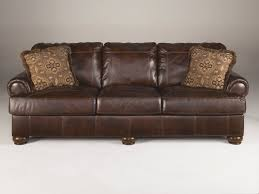 axiom walnut all leather 4200038 sofa marjen of chicago
