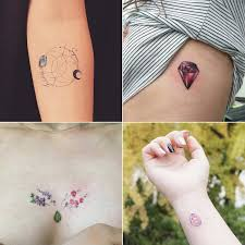 birthstone tattoos popsugar