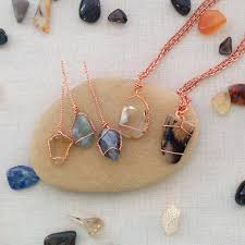 make stone pendant necklace images Lisa yang 39 s jewelry blog two ways to wire wrap undrilled stone jpg