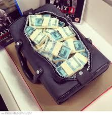 money cake designs bag of money cake reposti