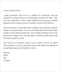 letter of reference sample letter of reference template letter of