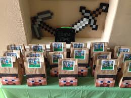 minecraft goody bags minecraft goodie bags sorry i just read your comment i just