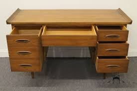 Broyhill Computer Desk High End Used Furniture Broyhill Premier Mid Century Modern 54