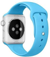 apple watch light blue silicone loop sport band for apple watch 42mm light blue price from