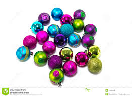 pink and blue christmas ornaments rainforest islands ferry
