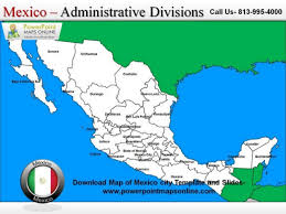 download map of mexico city template and slides