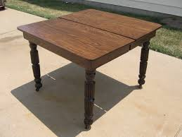 ana white refinished oak dining table diy projects