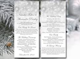 winter wedding programs 144 best winter wedding images on winter weddings
