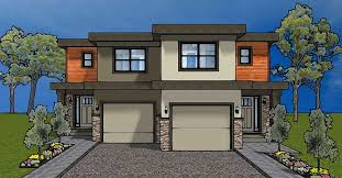 Up Down Duplex Floor Plans Duplex House Plan For The Small Narrow Lot 67718mg