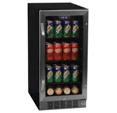 beer refrigerator glass door built in beverage refrigerators undercounter beverage