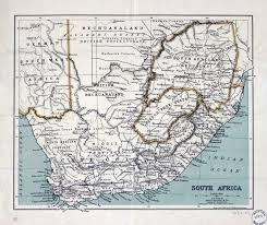 Map Of South Africa by Large Old Political Map Of South Africa With Relief U2013 1899