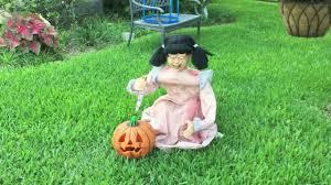 deady teddy spirit halloween spirit halloween lunging pumpkin carver demo tekky toys youtube