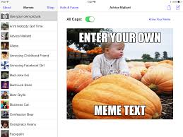 Make Meme App - to make a killer meme with an app in five minutes