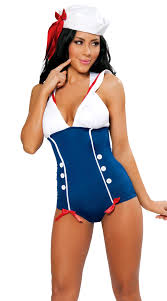 pin up girl costume pinup sailor costume n1224