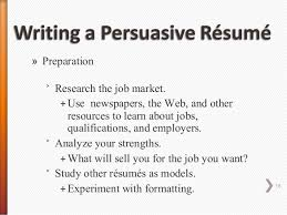 Job Qualifications Resume by Persuasive Resume Cover Letter Job Letter Writing