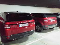 red range rover firenze red arrived