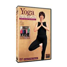 Exercise Chair As Seen On Tv Yoga For The Rest Of Us With Peggy Cappy A Step By Step Yoga