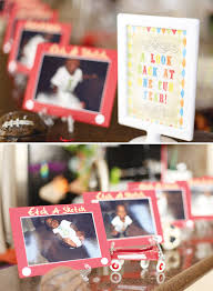 nostalgic vintage toy first birthday party hostess with the