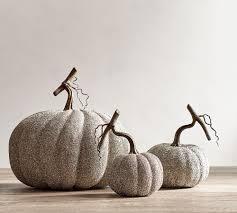 pottery barn halloween decor german glitter pumpkins pottery barn halloween collection 2017