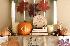 thanksgiving mantel decor dukes and duchesses