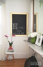 How To Frame A Wall by How To Frame A Chalkboard And Display It In Your Home