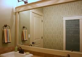 Wood Mirrors Bathroom Bathroom Mirrors Wood Frame Within Bathroom Mirrors Wood Frame