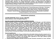 Executive Summary For Resume Examples by Download Executive Summary Resume Example Haadyaooverbayresort Com