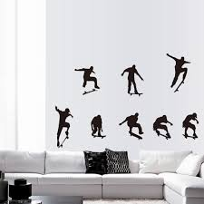skateboard sports cool life simple diy wall stickers sales