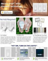 smart light switch homekit leviton 15 amp decora smart with homekit technology switch works
