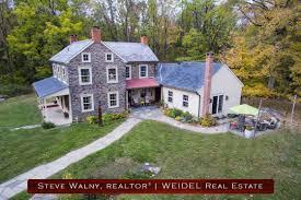 Farm Houses Fern Rock Bucks County Stone Farm House For Sale In Bucks County