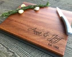 engravable cutting boards wood cutting board etsy