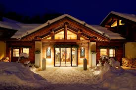 alps chalet for a luxurious cozy winter